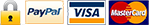 we accept PayPal, Mastercard and Visa